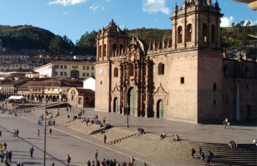 Cusco Cathedral in the main square