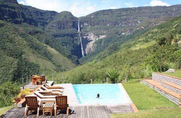 Amazon Peru Lodge overlooking the Gocta waterfall