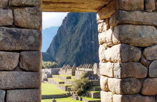 Sun gate Machupicchu Cusco