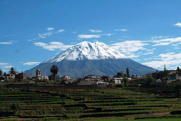 Andes Peruanos - Arequipa Volcán del Misti
