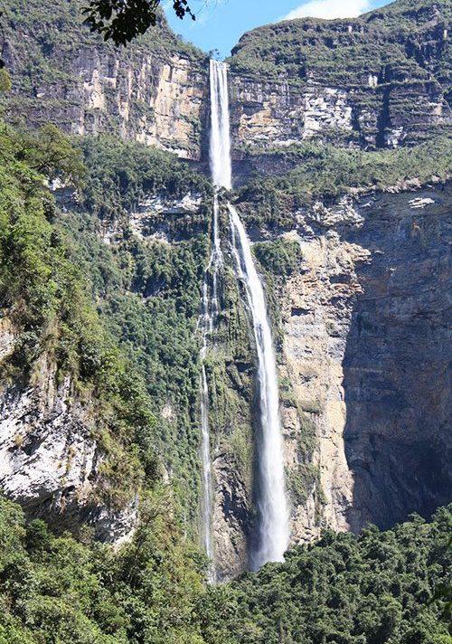 Amazon Peru - Gocta waterfall